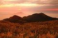 Sunset at Mt. Datun