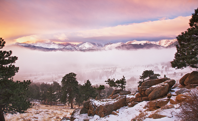 Between the Inversion Layer and the Storm