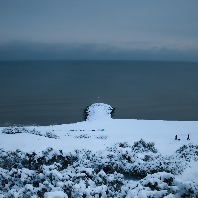 Snowy Groyne