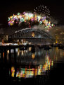 Sydney Harbour Bridge NYE 2011