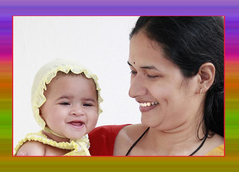 Joy of a daughter