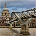 From Millenium Bridge to St Pauls