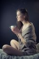 wonderful morning with perfect coffee