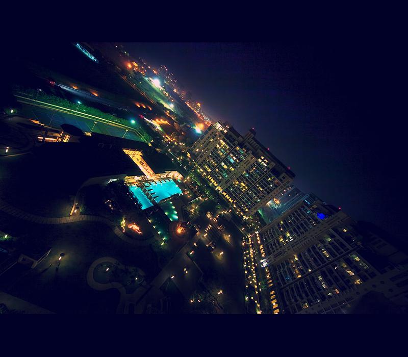 Night Time in Gurgaon