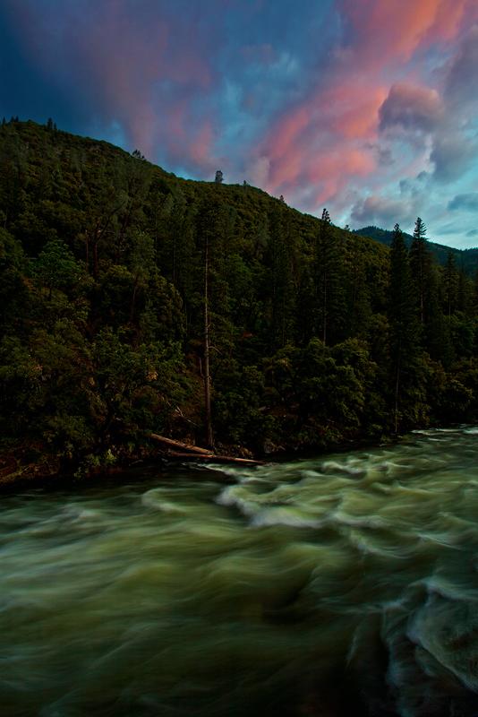 Spring Flood, Merced River, Sunset