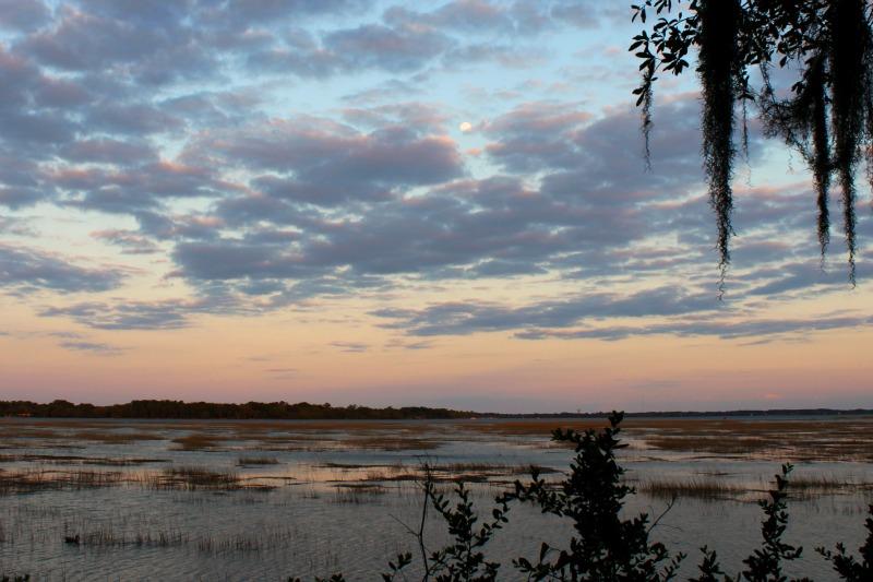 Beaufort Sunset looking away,