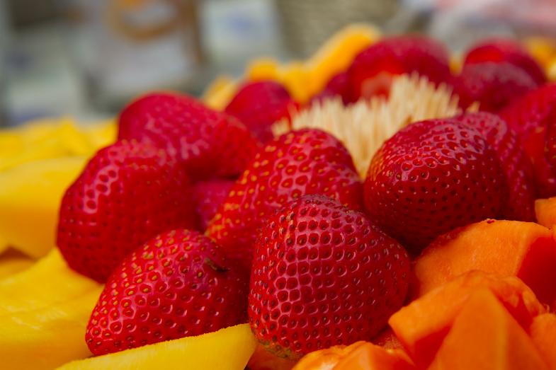 June... Time for fresh fruit.