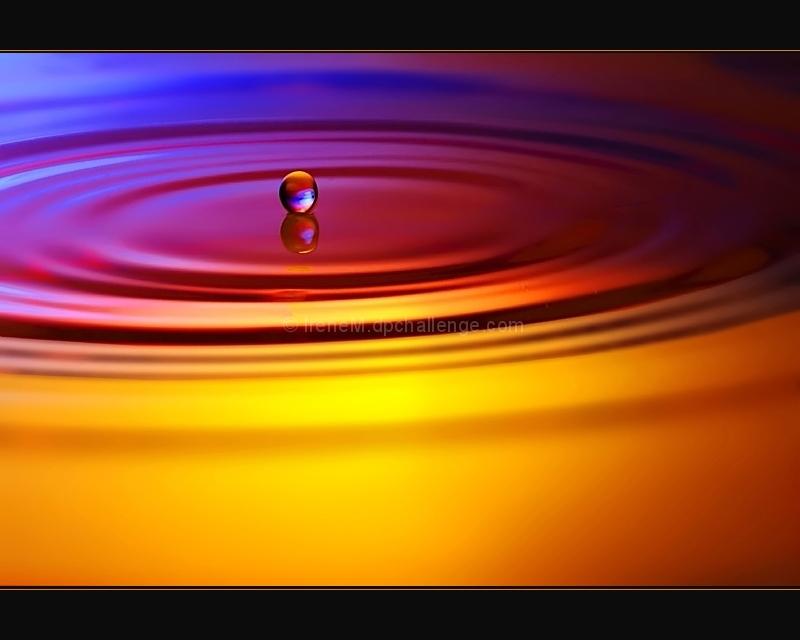 Tiny Rainbow Droplet