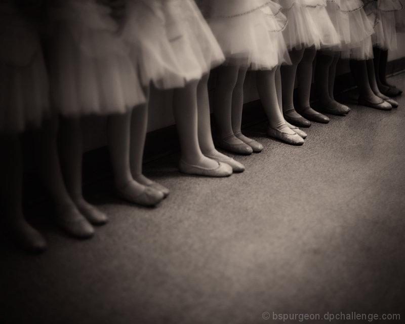 backstage, waiting