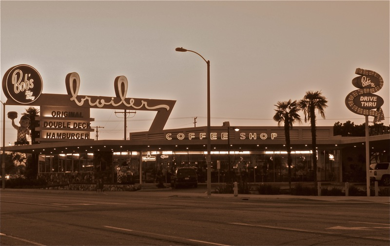 Formally known as Johnie's Broiler,Circa 1958,  Downey, CA