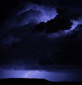 A thunderstorm in Blue