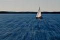 Sur le lac bleu