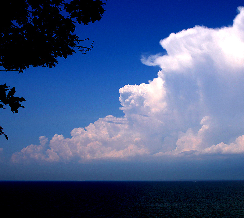 Clouds over Lake Erie