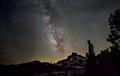 Milky Way Over Banner Peak