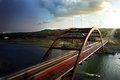 Pennybacker Bridge: Day to Night