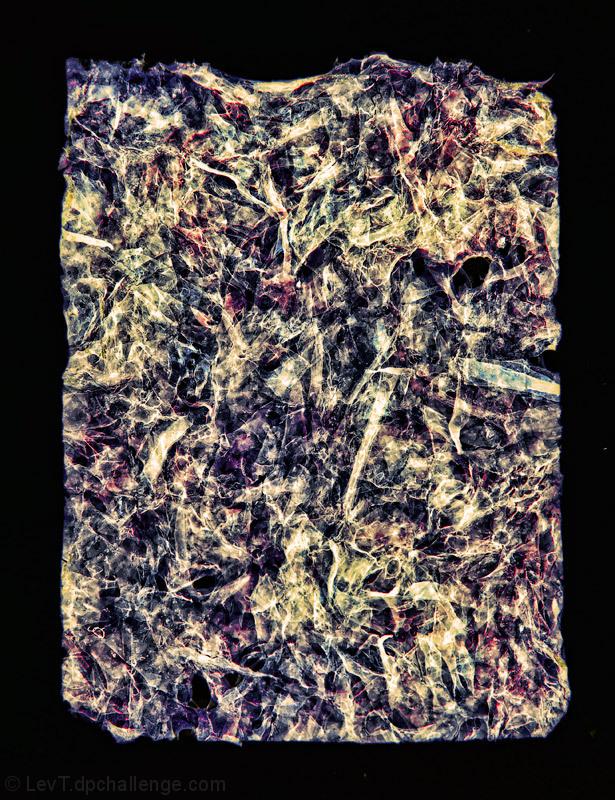 Inferno (homage to El Greco and Jackson Pollock)