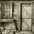 Pioneer Cabin Door