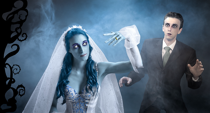 You may kiss the Corpse Bride