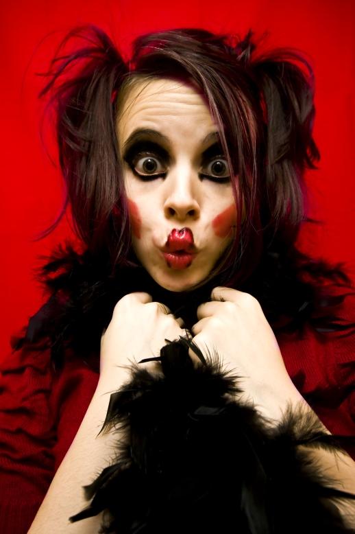 Harley Quinn Brunette