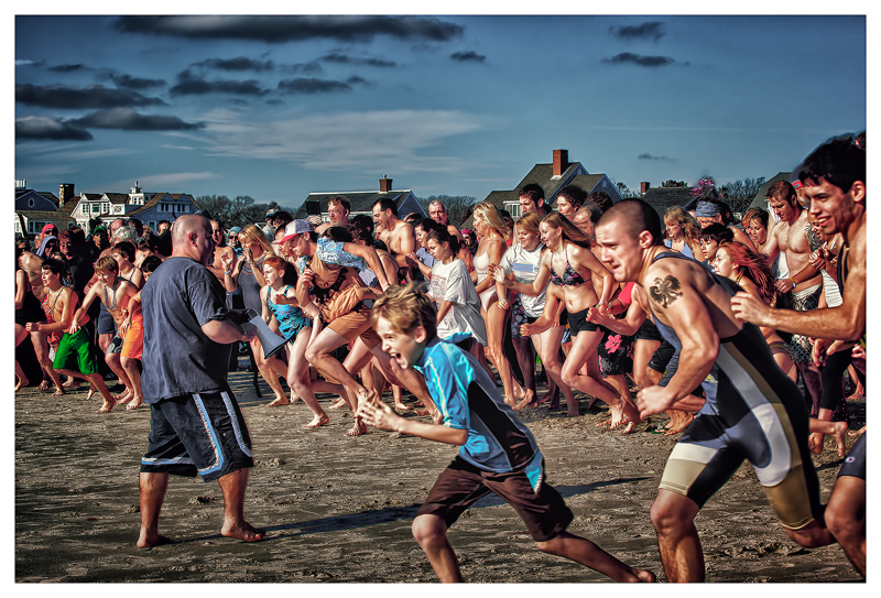 Taking the Polar Bear Plunge — 01/01/2012