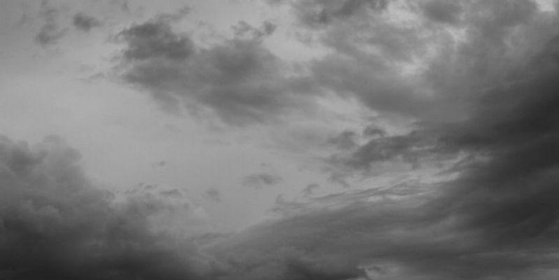 Sunrise through storm clouds