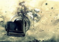 dump it down the drain,he sang lustily