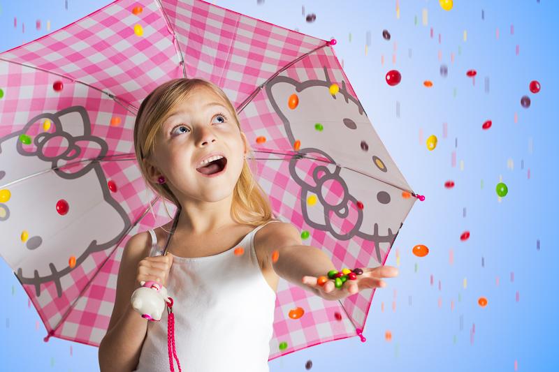 Raining Skittles