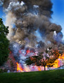 Fireworks Explosion Destroys Home