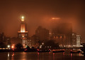 foggy night-Providence