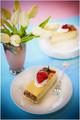Greecian Baked Cheesecake