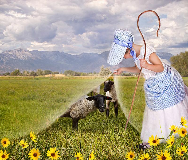 Little Bo Peep Has Lost Her sheep ...