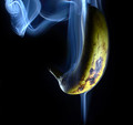 Smoking banana