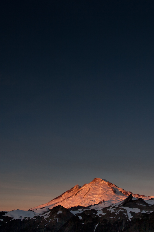Sunrise on Mt. Baker