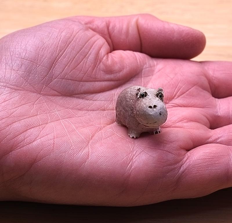 Hand Held Hippopotamus