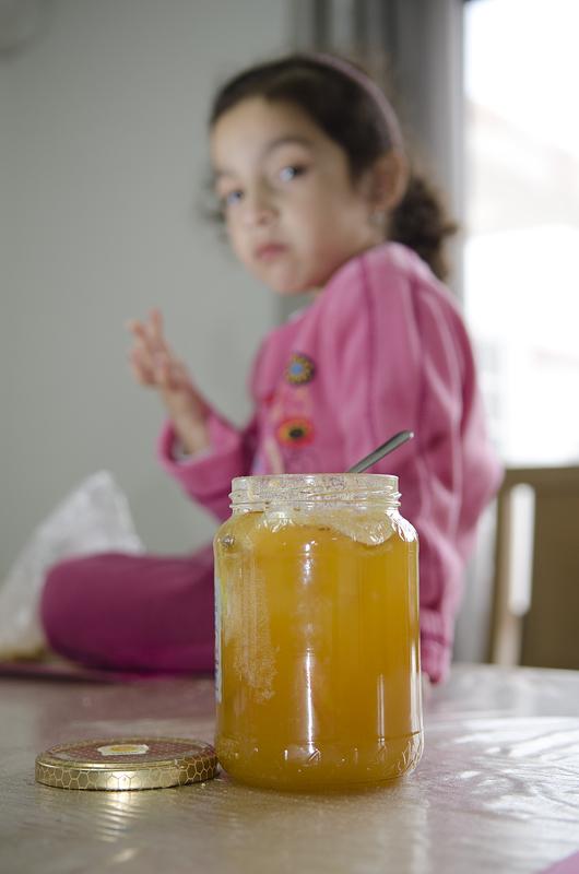 My honey girl don't like Honey