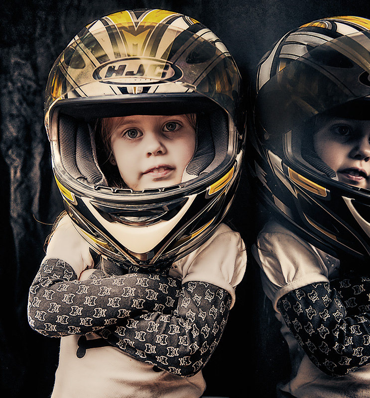 Use your head, wear a helmet ... don't forget about them.