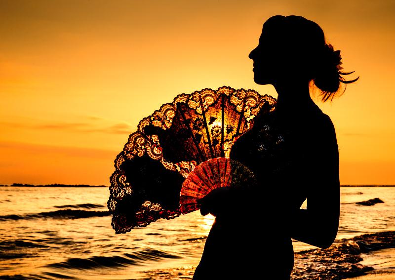 Fan-tastic sunrise
