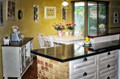 European style open kitchen