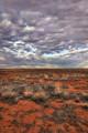 Rays over the Strzelecki Desert