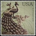 Forever Peacock Stamp