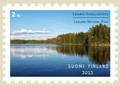 Postcard stamp
