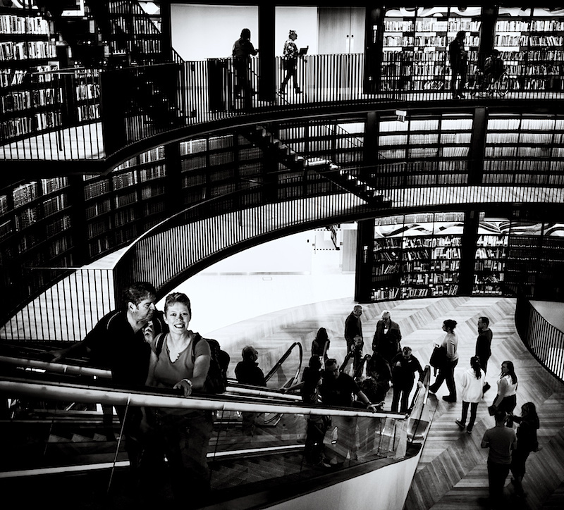 Library Candid