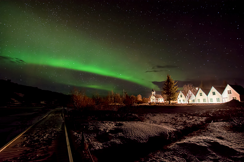 Went out for aurora hunting