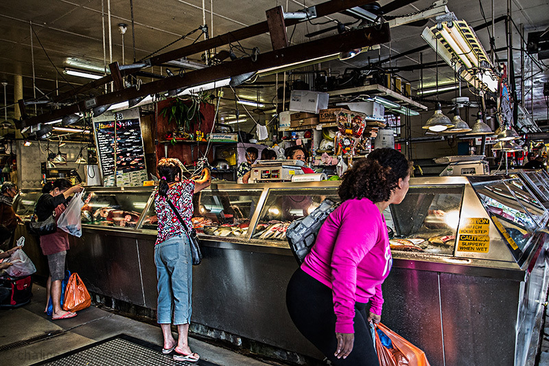 I visited the Chinatown Fish Mongers