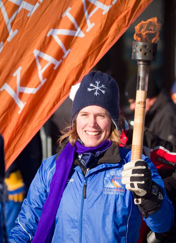 Sara Renner Alberta Winter Games