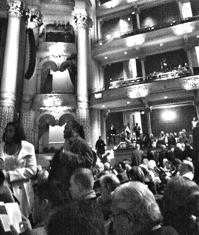 Waiting for the Opera
