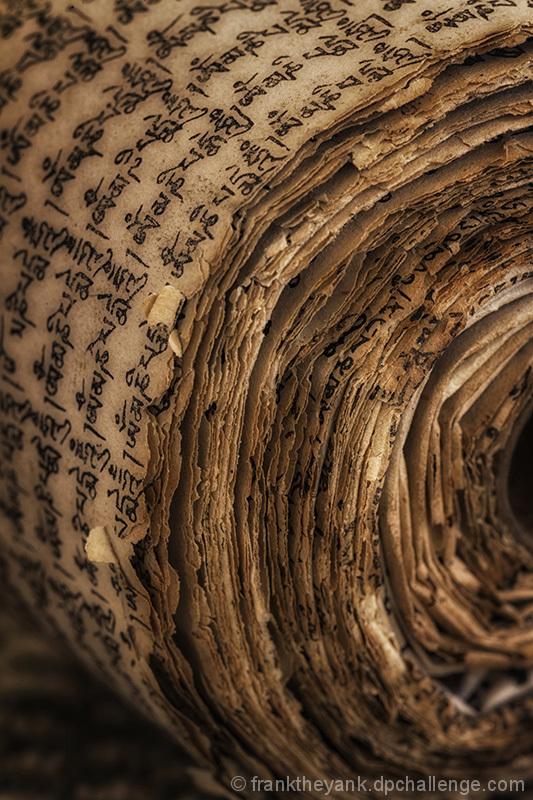 Buddhist Prayer Scroll