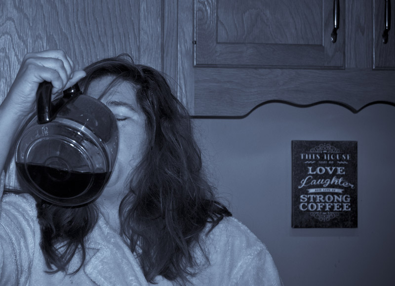 waken up- when one cup is not enough