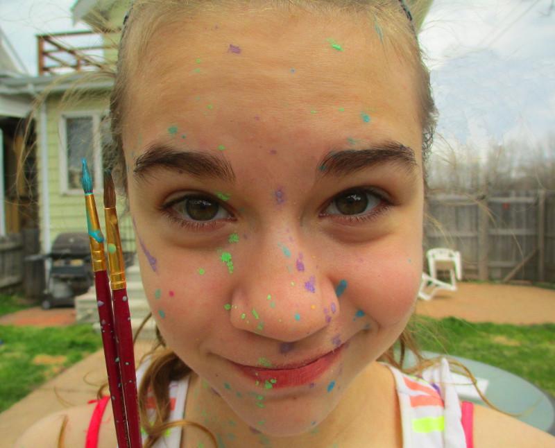Miss. Paint Face