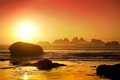Winter Sunset ~ Bandon, OR